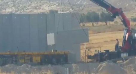 Israel Bangun Tembok Pemisah Hebron Cegah Penyusupan Pejuang Palestina