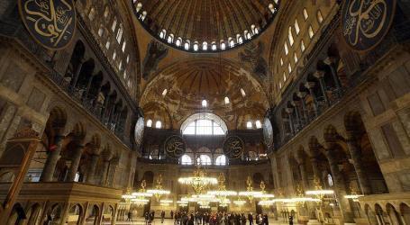 Turki Tolak Kritik Yunani Terkait Bacaan Al-Quran di Museum Hagia Sophia