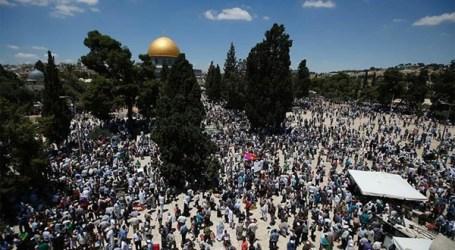 Jumat Pertama Ramadhan,100 Ribu Jamaah Padati Al-Aqsha