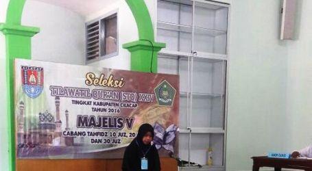 Santri Ponpes Al-Fatah Maos Ikuti Seleksi Tilawatil Qur'an Cabang Tahfidz 20 Juz