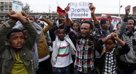 PBB Desak Penyelidikan Pembunuhan Puluhan Demonstran Ethiopia