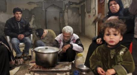 Terhalang Lagi Bantuan Sosial untuk 677 Keluarga Miskin di Gaza