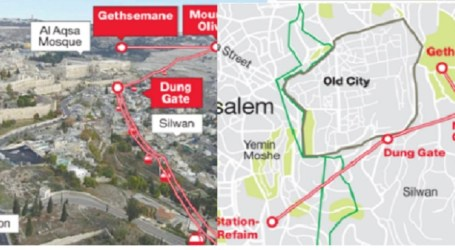 Fatah Peringatkan Rencana Kereta Gantung Tel Aviv-Makkah