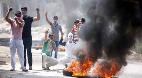 Muslim Kashmir Unjuk Rasa Dukung Kemerdekaan di Hari Idul Adha