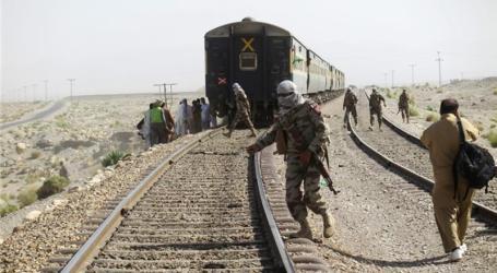 Serangan Bom Landa Kereta Api di Balochistan Pakistan