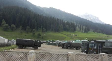 Kamp Tentara India di Kashmir Diserang Militan