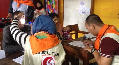 Korban Masih Trauma, MER-C Adakan Pengobatan Gratis di Garut