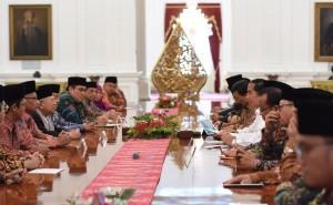 Presiden Jokowi: Nasihat Sejuk Ulama Dinanti Umat
