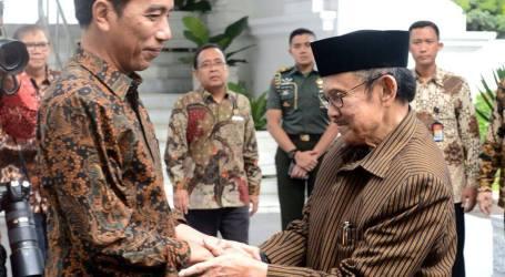 Jokowi Bertemu Habibie Bahas Kondisi Indonesia