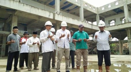 Imaamul Muslimin Harapkan Masjid An-Nubuwwah Selesai Secepatnya