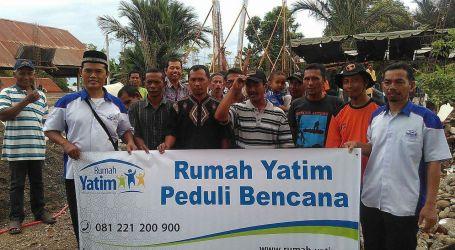 Ukhuwah Alfatah Rescue dan Yayasan Rumah Yatim Rekonstruksi Pesantren Pasca Gempa Pidie Jaya