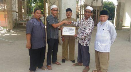 IKA Al-Fatah Lampung Serahkan Bantuan Untuk Pembangunan Masjid An-Nubuwwah