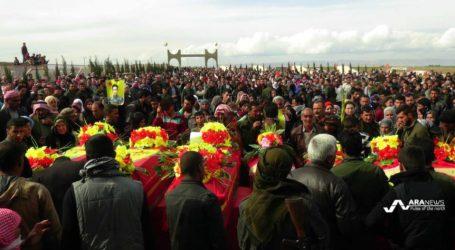 Erdogan Nyatakan Akan Kuasai Kota Manbij di Suriah Utara