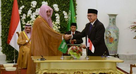 Sebelas Deklarasi Bersama, Nota Kesepahaman, Perjanjian Kerjasama Diteken Indonesia-Arab Saudi