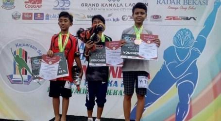 Siswa MTsN 1 Kota Bengkulu Raih Medali Emas Kejuaraan Sepatu Roda Nasional