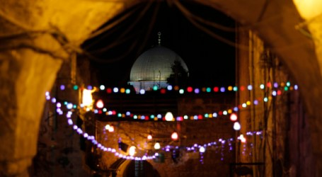 Warga Al-Quds Antusias Sambut Ramadhan