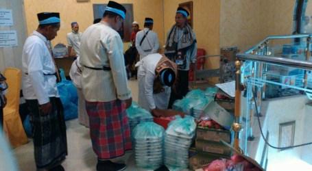 Sarapan Pagi Jamaah haji Indonesia  Roti
