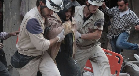 Lima Relawan White Helmets Suriah Dibunuh Orang-orang Bersenjata