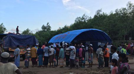 Tenda Batuan Indonesia telah Berdiri di Lokasi Pengungsi dari Rakhine State