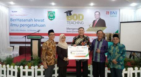 Gelar Edukasi Perbankan Syariah di SMA Universitas Islam Sumatera Utara