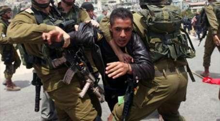 Israel Tahan 18 Orang Palestina di Tepi Barat