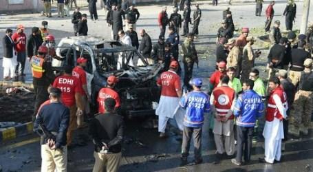 Pembom Bunuh Diri Tewaskan Polisi Senior Pakistan