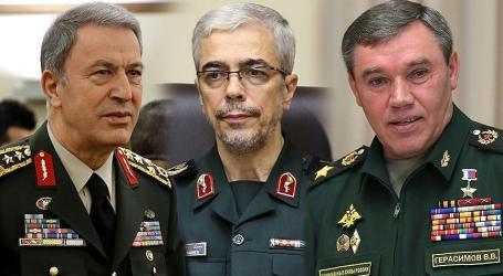 Panglima Tentara Turki, Iran dan Rusia Bertemu Sebelum KTT
