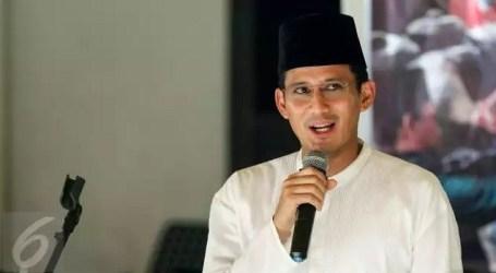 Ratusan Petugas KPPS Meninggal, Sandiaga Sebut Pemilu Juga Harus Sehat
