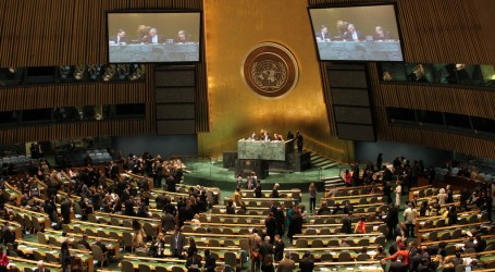 176 Negara Anggota PBB Dukung Palestina Tentukan Nasib Sendiri