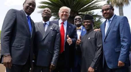 Negara-negara Afrika Tuntut Donald Trump Minta Maaf