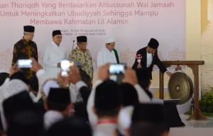 Jokowi : Sampaikan Ukhuwah Islamiyah dan Ukhuwah Wathoniah