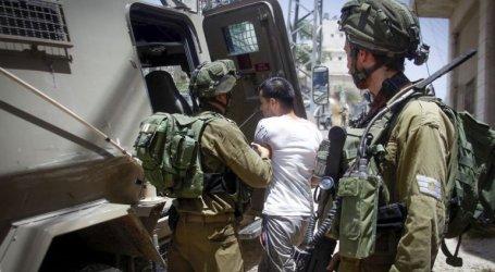 Israel Tahan Delapan Warga Palestina di Tepi Barat