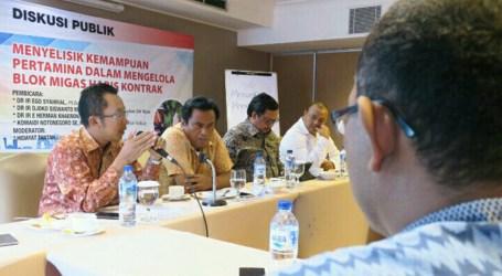 DPR Dorong Pemerintah Serahkan Blok Migas Habis Masa Kontrak Kepada Pertamina