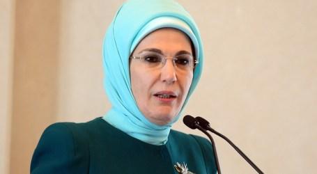 Ibu Negara Turki Terima Penghargaan Layanan Kemanusiaan