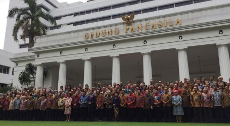 Jokowi Buka Raker Kepala Perwakilan RI di Seluruh Dunia