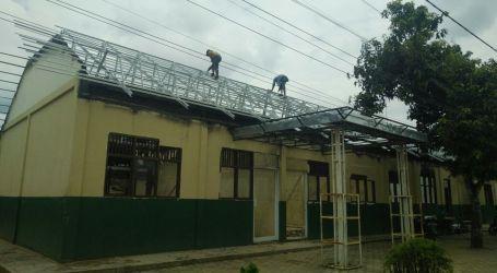 Pasca Kebakaran Ponpes Al-Fatah Lampung Mulai Diperbaiki