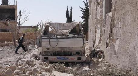 Serangan Udara Rusia Tewaskan 20 Warga Di Idlib