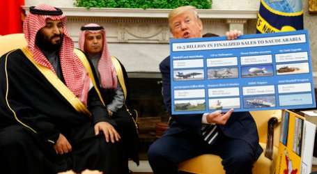 AS Akan Jual Senjata ke Saudi Lebih $ 1 Miliar
