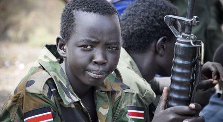 Lebih 200 Tentara Anak Dibebaskan di Sudan Selatan