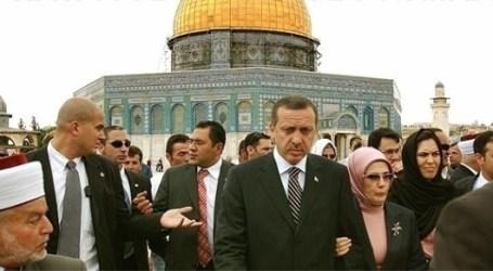 Erdogan: Turki Tidak Akan Menyerah Perjuangkan Yerusalem