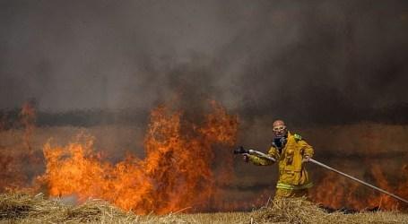 Layang-layang Gaza Akibatkan Kebakaran Terburuk bagi Cagar Alam Israel
