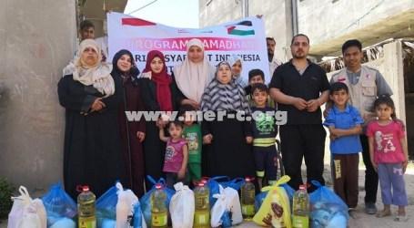 MER-C Gaza Salurkan Bantuan Ramadhan dari Masyarakat Indonesia