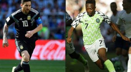 Nigeria vs Argentina: Ahmed Musa dan Messi Adu Ketajaman