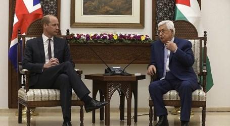 Abbas kepada Pangeran William: Dua Negara Dalam Batas 1967