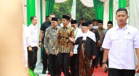 Menag Dampingi Presiden Jokowi Hadiri Tasyakuran Milad MUI ke-43