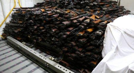 AL AS Sita Ratusan Senjata dari Kapal di Perairan Yaman