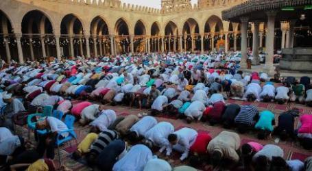 Ratusan Ribu Umat Islam Hadir Shalat Ied di Masjid Al-Aqsha