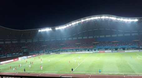 Babak Pertama Indonesia vs Palestina Sama Kuat