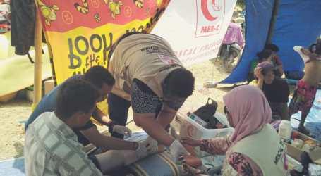 MER-C Tim Medis Pertama Jangkau Korban Gempa di Desa Salut
