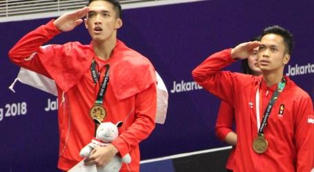 Jonatan Christie Raih Medali Emas untuk Indonesia